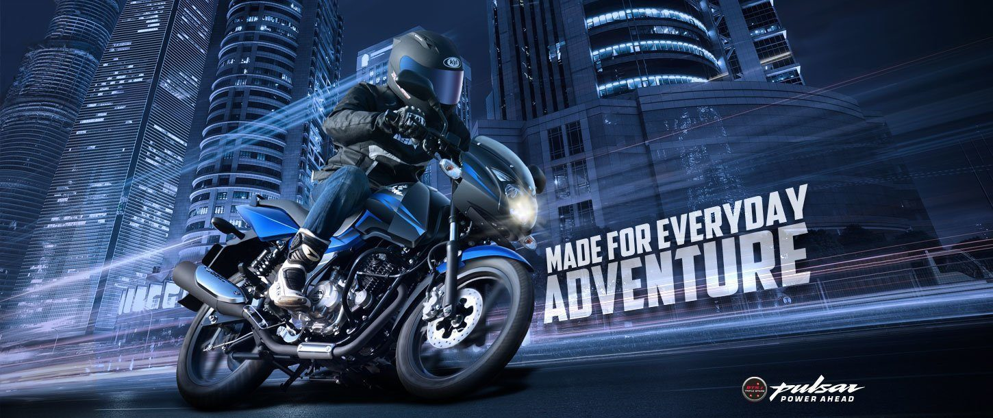 Bajaj Pulsar 150cc - Made For Everyday Adventure