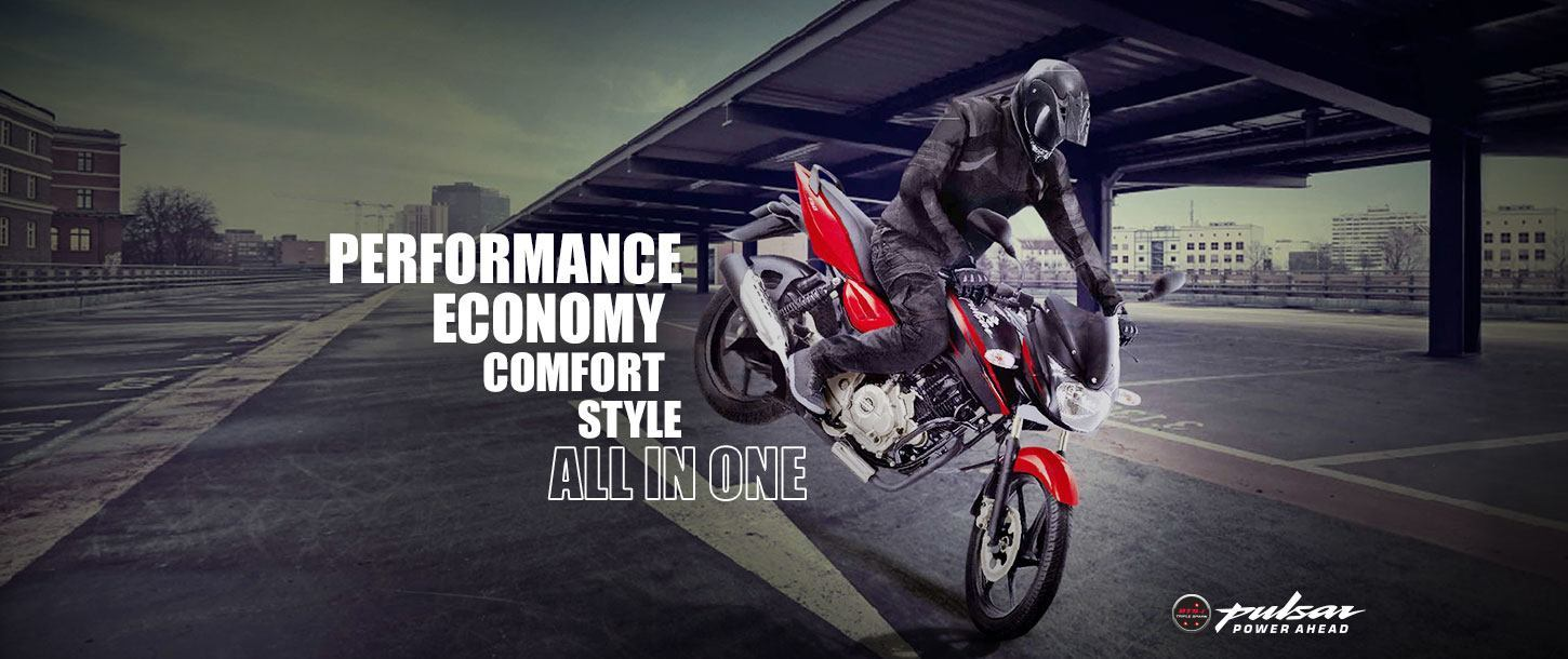 Bajaj Pulsar 150cc - Performance Economy Comfort Style All in One