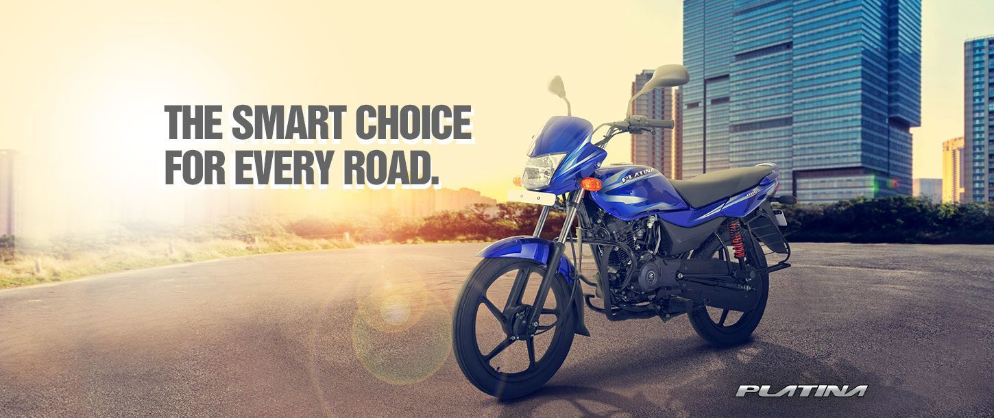 Bajaj Platina 100ES - The Smart Choice for Every Road