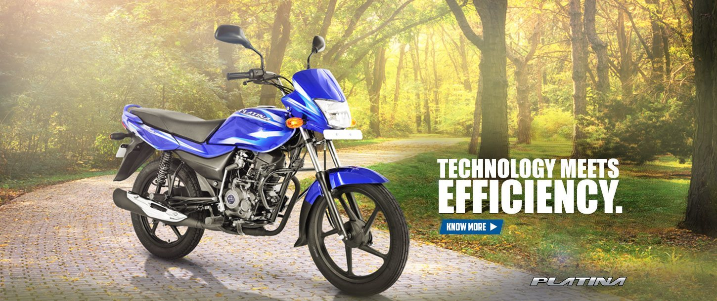 Bajaj Platina 100ES - Technology Meets Efficiency
