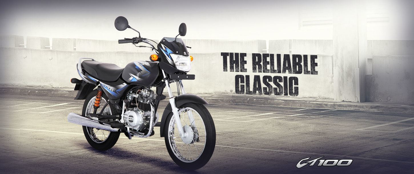 Bajaj CT 100 - The Reliable Classic