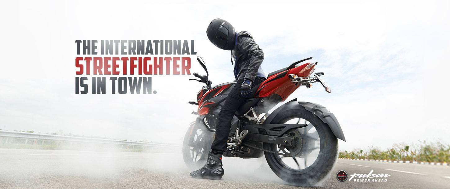Bajaj Pulsar NS200 - The International Streetfighter is in Town