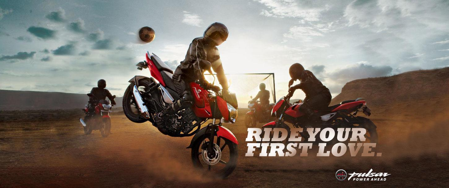 Bajaj Pulsar 135cc - Ride Your First Love