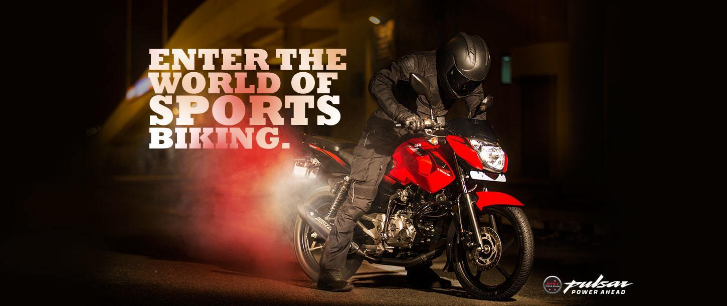 Bajaj Pulsar 135cc - Enter the World of Sports Biking
