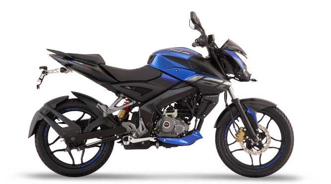 bajaj pulsar ns160 gallery colours