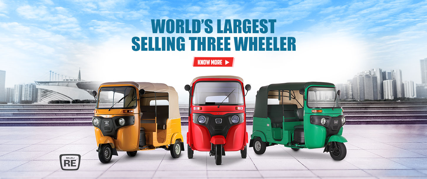 World's Largest Selling Three Wheeler