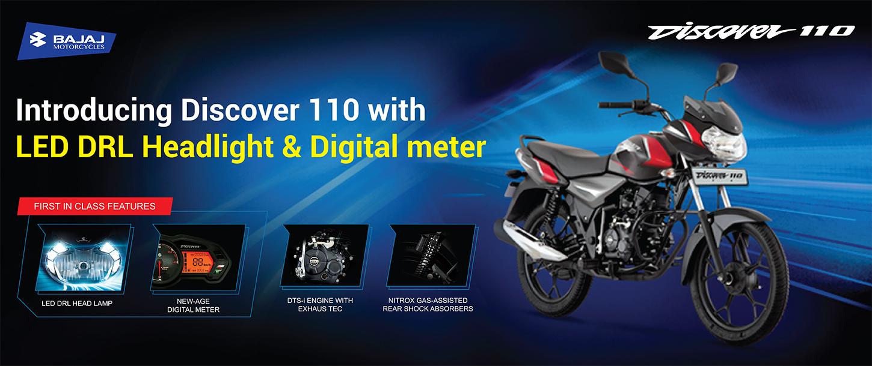 Bajaj Discover 110 ,Capacity, Power, Engine, Price in Sri