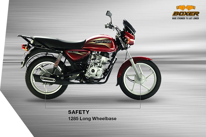 Bajaj Boxer 150 - Safety