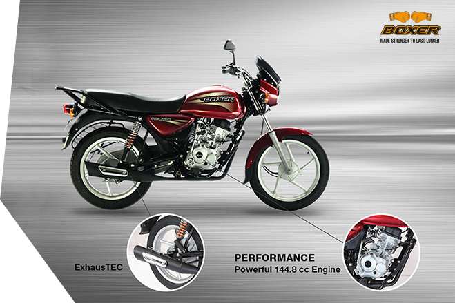 Bajaj Boxer 150 - Performance