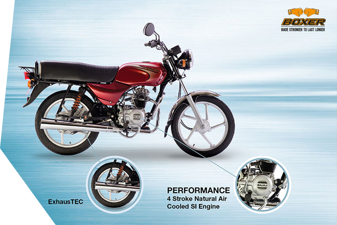 Bajaj Boxer 100 - Performance