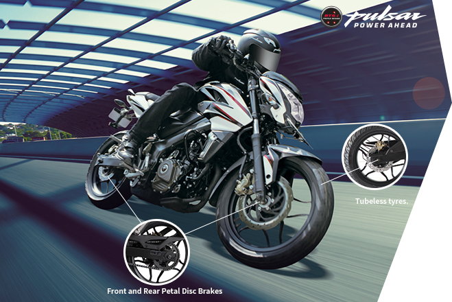 Bajaj Pulsar NS200 - Safety