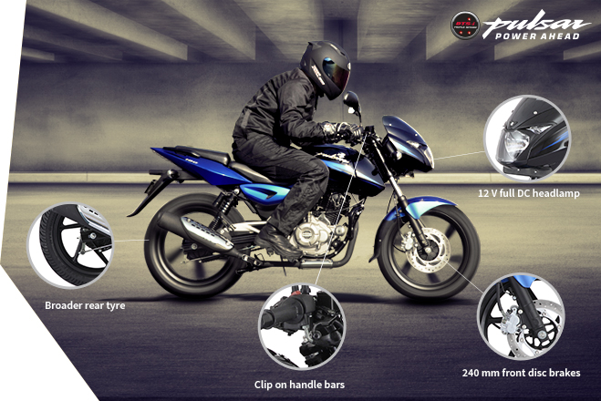 Bajaj Pulsar 180cc - Safety