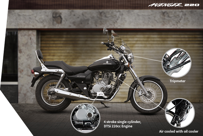 Bajaj Avenger 220 - Performance