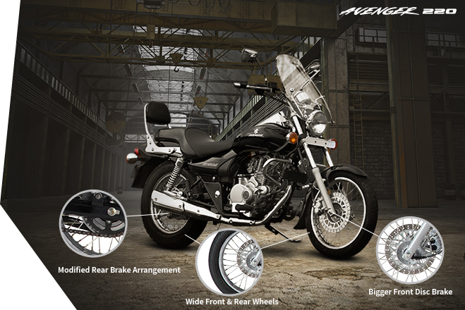 Bajaj Avenger 220 - Safety Technology